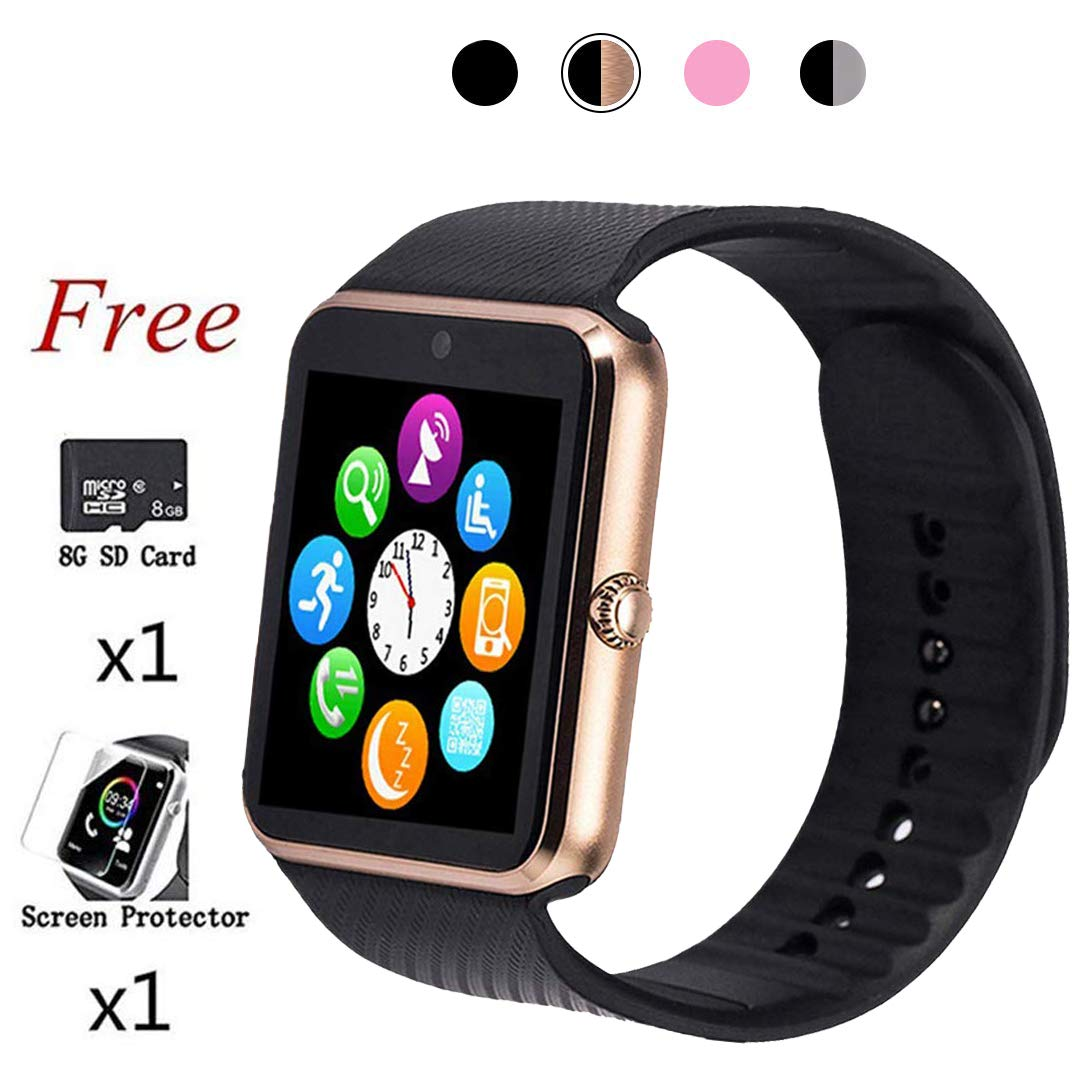 Bluetooth Smart Watch,Touch Screen Sport Wrist Watch Phone ...