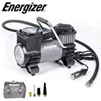 $35 » Energizer Portable Air Compressor Tire Inflator, 12V DC Air Pump for Car Tires with Auto Shut…