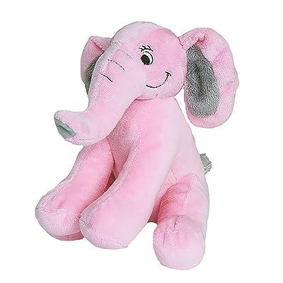 Cuddly Soft 8 inch Stuffed Pink Elephant...We Stuff 'em...You Love 'em!: Toys & Games
