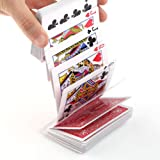 RUNGAO Electric Magic Trick Deck of Cards Magician Prank Trick Close up Stage Prop Toys