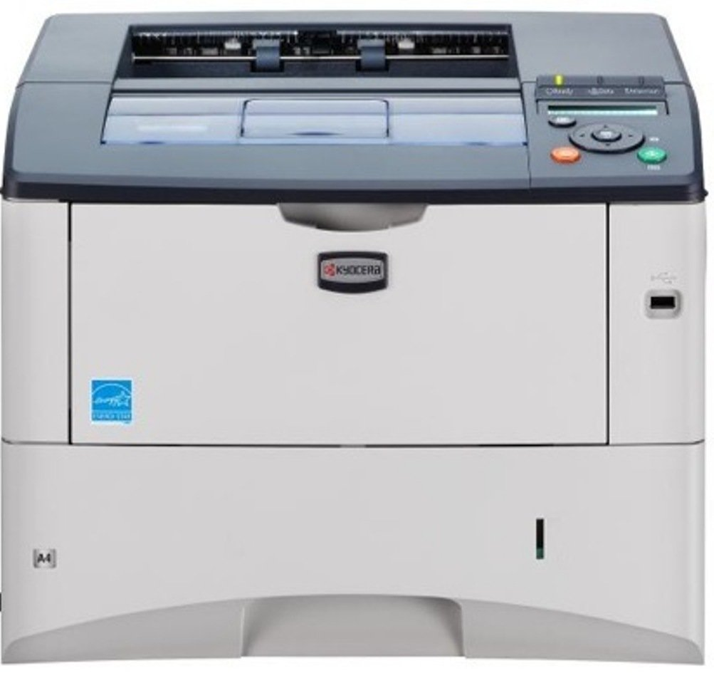 Kyocera 1102J02US0 model FS-2020D 37 PPM Desktop B&W Laser Printer – Optional Networking with IB-31 card