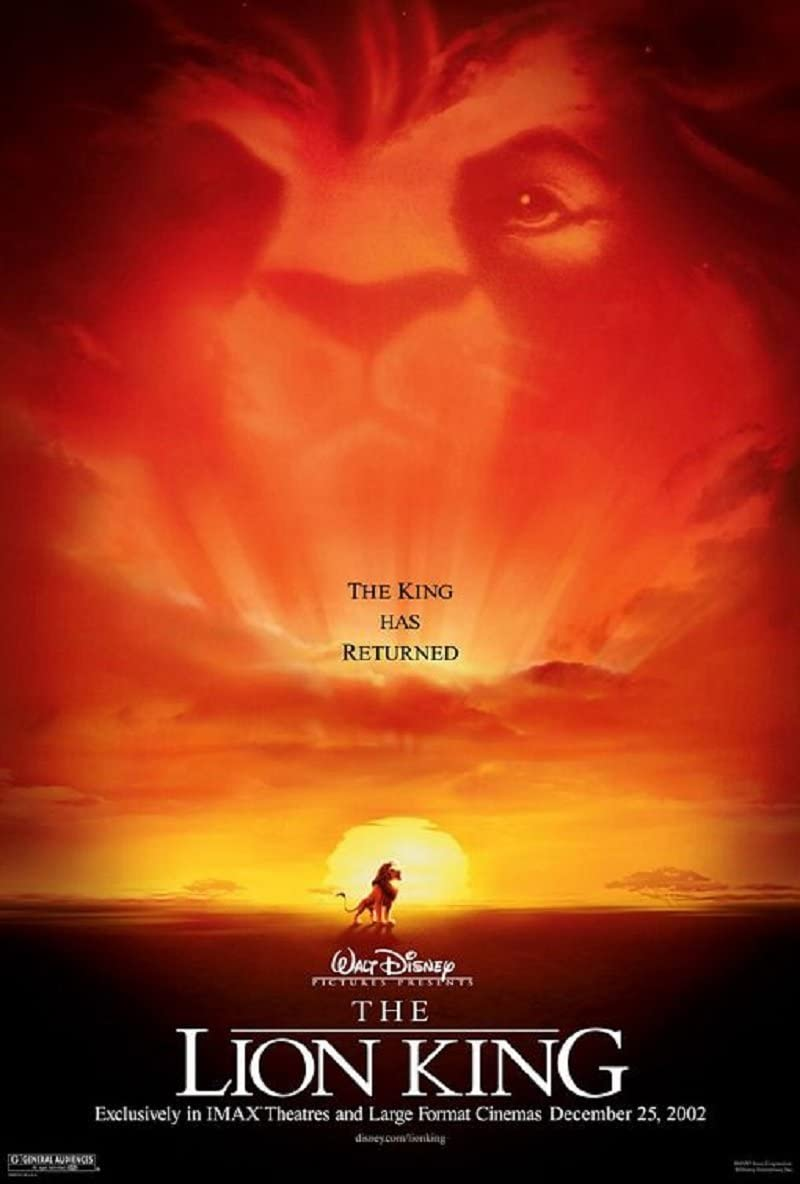 The Lion King 1994 D S Advance Rolled Movie Poster 27x40 At Amazon S Entertainment Collectibles Store
