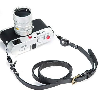 Canpis - Correa de Piel para cámara réflex Digital y réflex ...