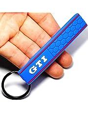 GTI Logo Emblem Badge Car Keychain Key Ring for VW Golf Mk2 Mk3 Mk4 Mk5 Mk6