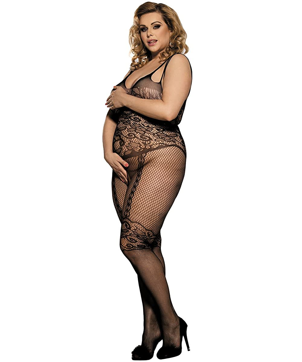 5adfce128 Evershare Sexy Bodystocking Lingerie for Woman for Sexy Black Mesh Fishnet  Tights Crotchless Halter Bodysuit  Amazon.co.uk  Clothing