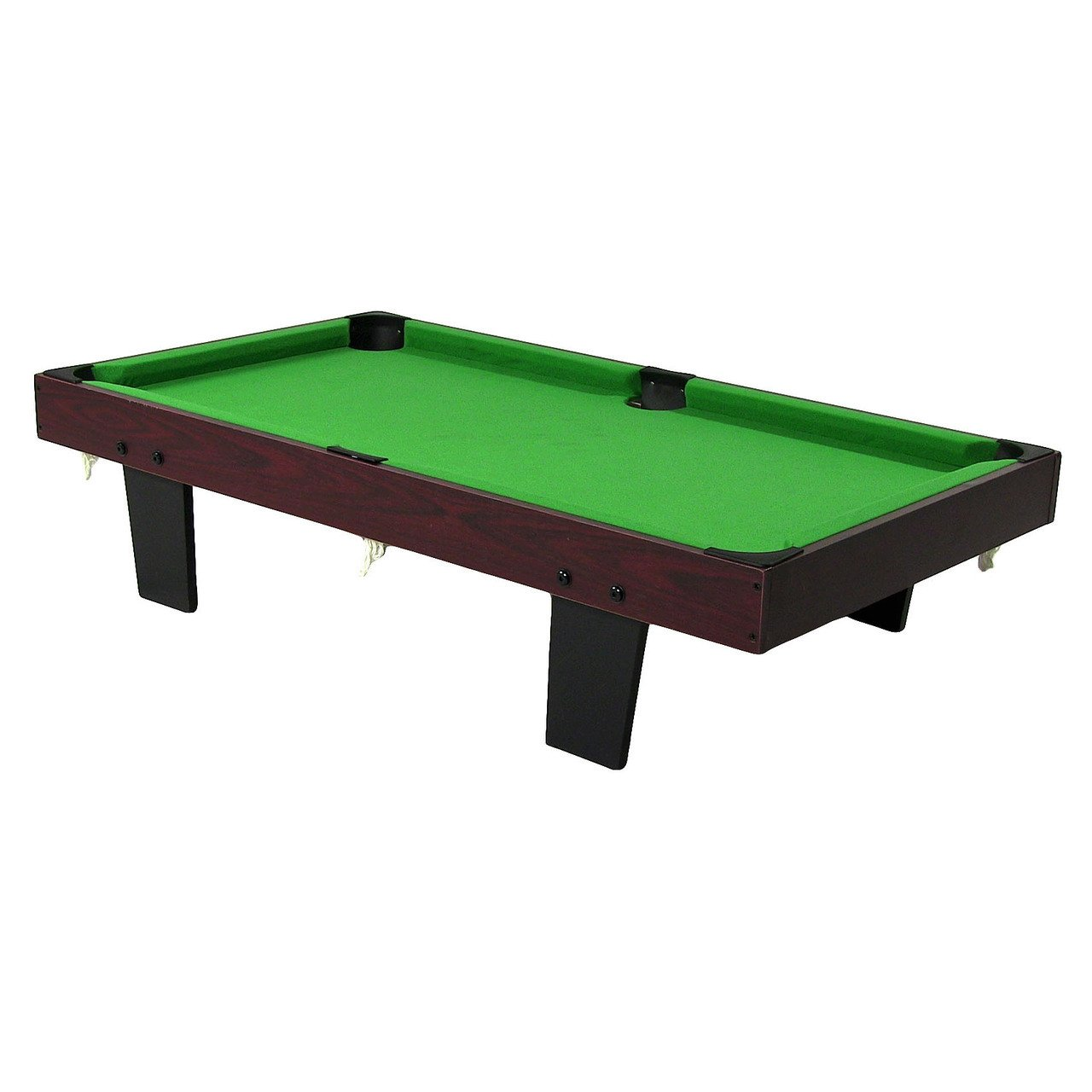 Amazon.com : Sunnydaze 36 Inch Mini Tabletop Pool Table Set Triangle,  Balls, Cues, Chalk Brush : Sports U0026 Outdoors