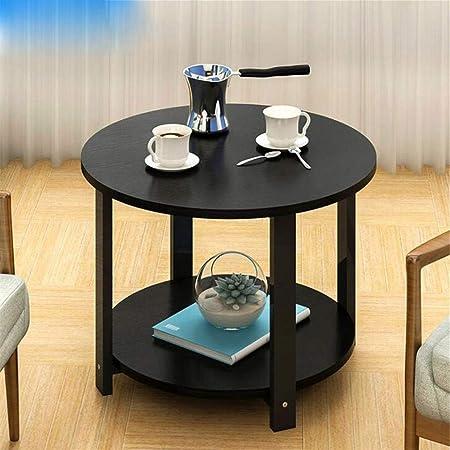 Soggiorno Moderno Con Tavolo In Legno.Zouqilai Tavolino Da Salotto Moderno A 2 Gradini Con Tavolo