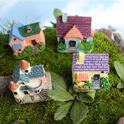 SoundsBeauty - Adorno para jardín, diseño de Hada en Miniatura: Amazon.es: Jardín