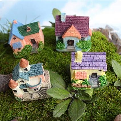 Amazon com : Shineweb Micro Landscape Decor Miniature Fairy Garden