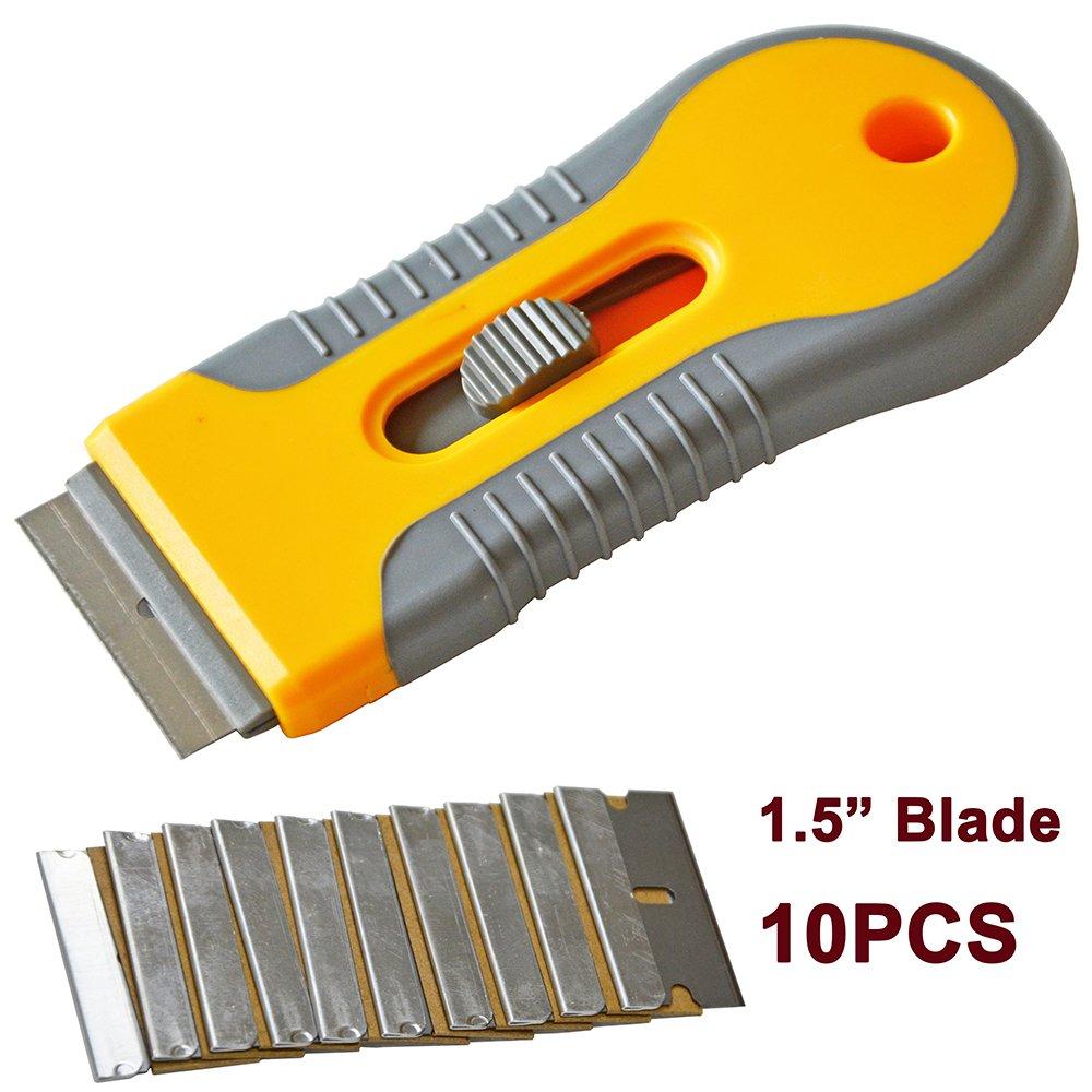 Ehdis Car Sticker Remover Razor Blade Spatula Scraper