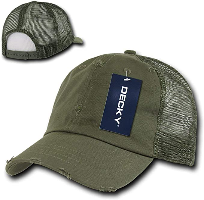 Adjtable , Woodland + White DECKY Vintage Mesh Caps Baseball cap