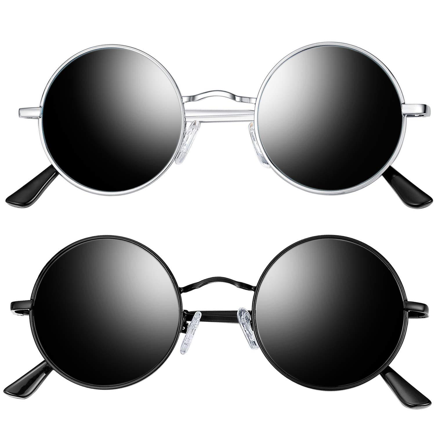Amazon.com: Joopin Polarized Round Sunglasses for Men and ...