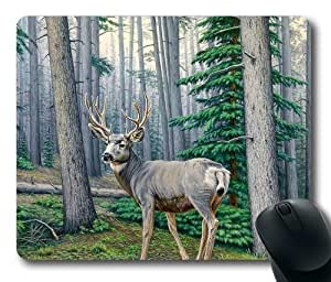 "New Illustration Painting Rockchucks On The Talus Slope Oblong Mouse Pads/ Standard Rectangle Gaming Mousepad in 9""*7 by icecream design"