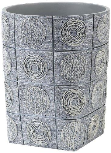 Avanti Linens Galaxy Waste Basket, Silver