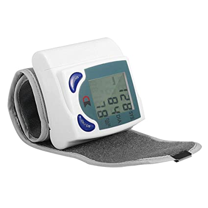 Pandady Automático Muñeca Tipo Electrónico Tensiómetro Digital Presión Arterial Reloj Portátil Mayor Presión Arterial Hogar