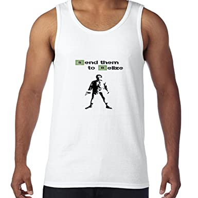 AW Fashions Send Them to Belize - Periodic Table Walter White Mens Tank Top (Small