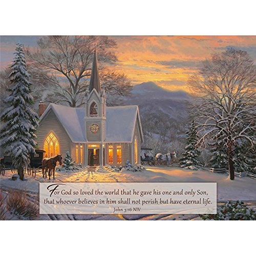 Lights Boxed Holiday Cards (Legacy Publishing Group Boxed Holiday Greeting Cards with Scripture, Light of the World (HBX40767))