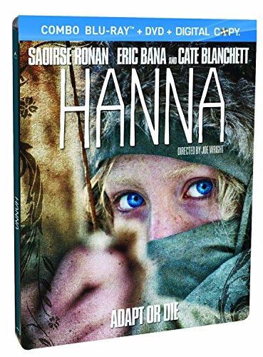 Hanna Steelbook Blu Ray + DVD Exclusive