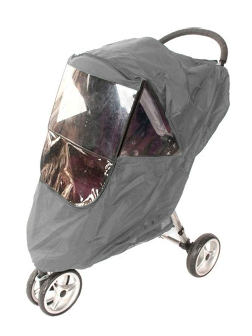 Comfy Baby Universal Multi-Purpose Stroller Weather Shield - gray, one size