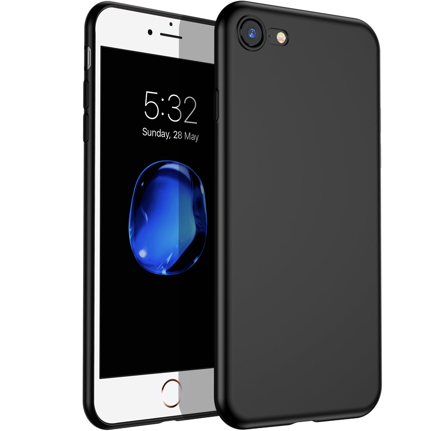 VANMASS iPhone 7/8 Case, Ultra Thin Slim Soft TPU Phone Case with Shock Absorption for iPhone 7/8