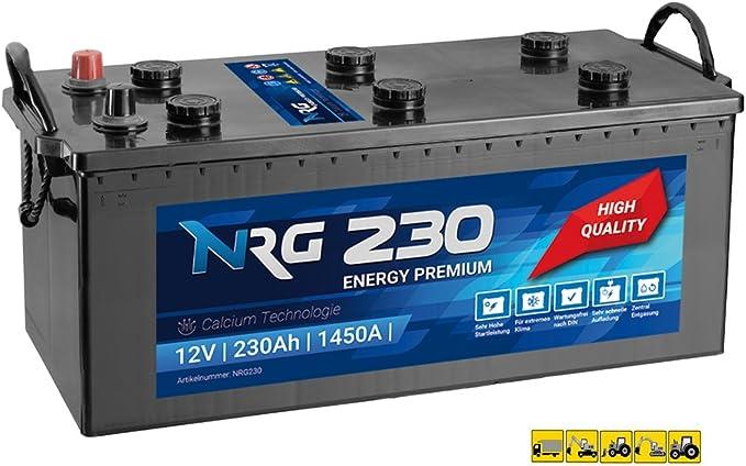 Nrg Premium Lkw Batterie 230ah 1450a En Starterbatterie Ersetzt 220ah 225ah Auto