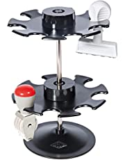 Wedo 0641601 - Soporte para 16 tampones (2 niveles), color negro
