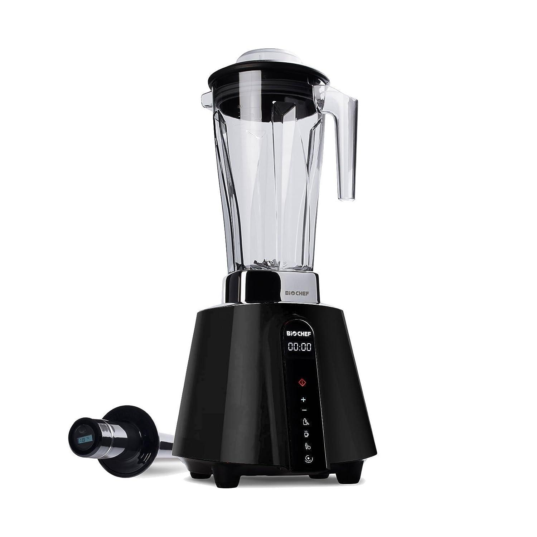 BioChef Living Food Blender - 1680 Watt Motor, 2L BPA-Free Jug with 3 preset Programs Plus Pulse Function - 10 Year Warranty (Black)