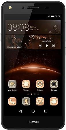 """Huawei Y5 II - Smartphone de 5"""" (Android, MicroSIM, EDGE, GPRS, GSM, UMTS, WCDMA, LTE), color negro: Amazon.es: Electrónica"""