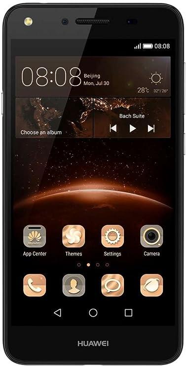 Huawei Y5 II Smartphone Débloqué 4G Ecran 5 pouces 8Go Carte Double SIM Android 5 1 Black Import Europe