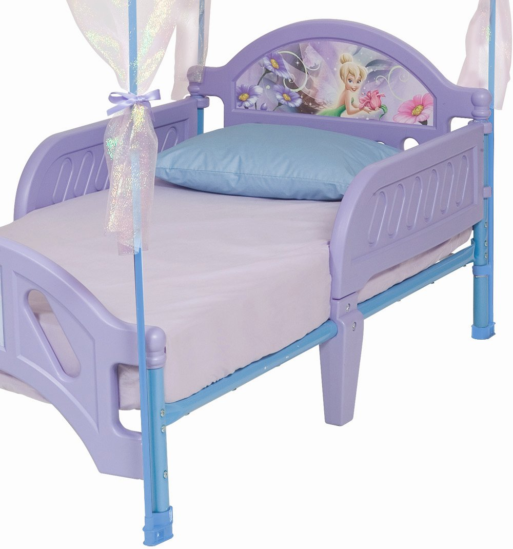 sc 1 st  Amazon.com & Amazon.com: Disney Fairies Toddler Bed with Canopy: Toys u0026 Games