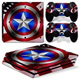 Cheap GoldenDeal PS4 Pro Console and DualShock 4 Controller Skin Set – Super Hero – PlayStation 4 Pro Vinyl