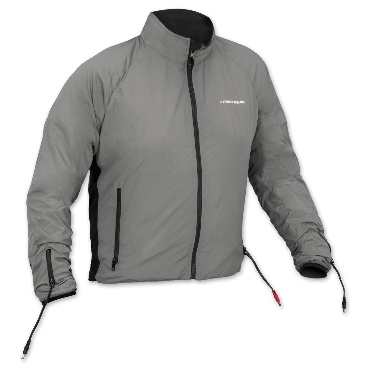 Amazon.com: Firstgear Men's 90-Watt Warm and Safe Men's Grey Heated Jacket  Liner 512724: Automotive