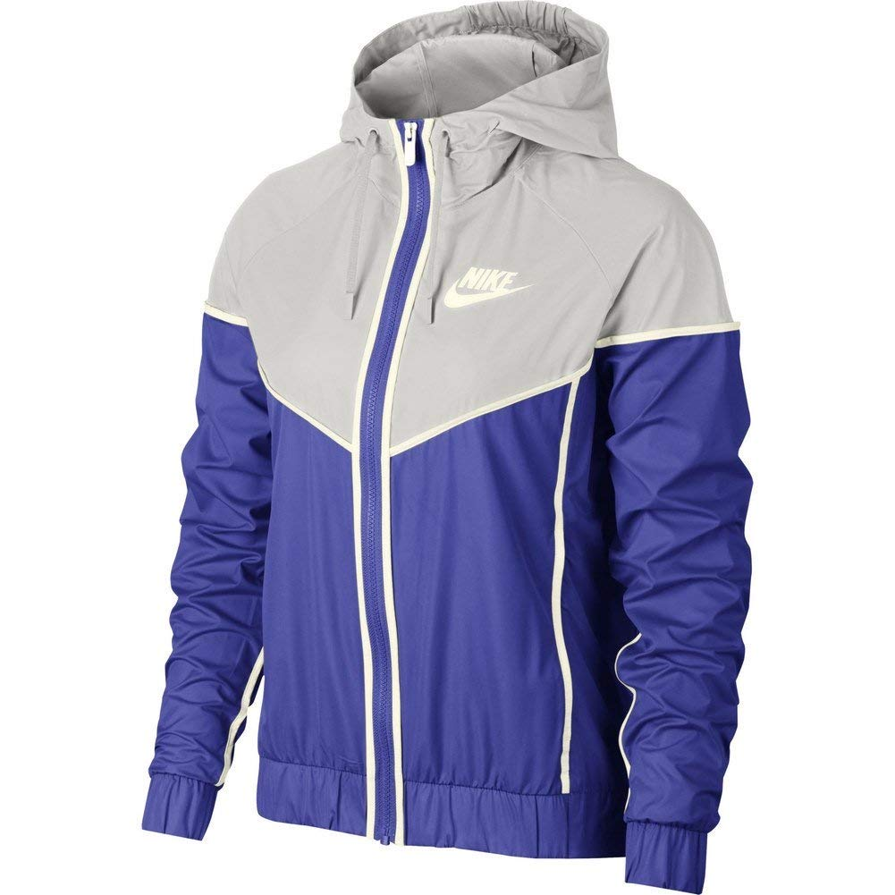 Nike Womens Windrunner Track Jacket Persian Violet/Vast Grey/Sail 883495-518 Size X-Small