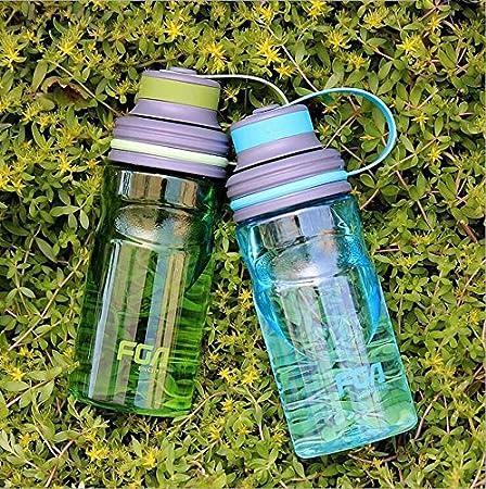 aiu Food Grade Agua de botellas de plástico Cups antigoteo para KINDERMANN Mujeres Sport Outdoor Camping Senderismo, gran capacidad Auto Portable té agua ...