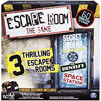 Amazon Com Spin Master Games Escape Room The Game With