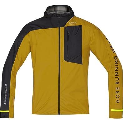 Gore Running Wear Fusion Windstopper Active Shell Chaqueta, Hombre, Dorado (Golden Oak)/Negro, S: Amazon.es: Zapatos y complementos