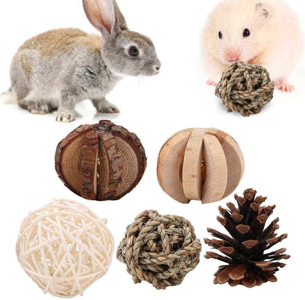 Accesorios de Juguete para Ratones Loros Ratas Juguetes para Mascotas Liyeehao Pelota de Juguete Juguetes para Perros Conejos Juguetes para Mascotas para h/ámsteres