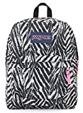 Jansport Superbreak Backpack (grey zebra)