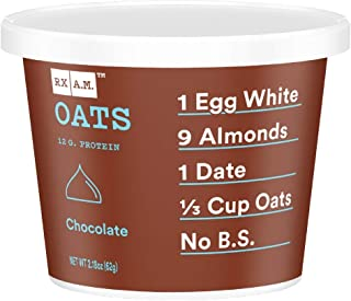 product image for RXBAR, Rx A.M. Oats, Chocolate, 12ct, 2.18oz Cups, 12 Gluten Free Oatmeal Cups