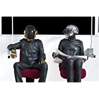 Daft Punk, fotografía montada sobre acrílico, medidas 22x33 cm, música, Nicolas Landemard