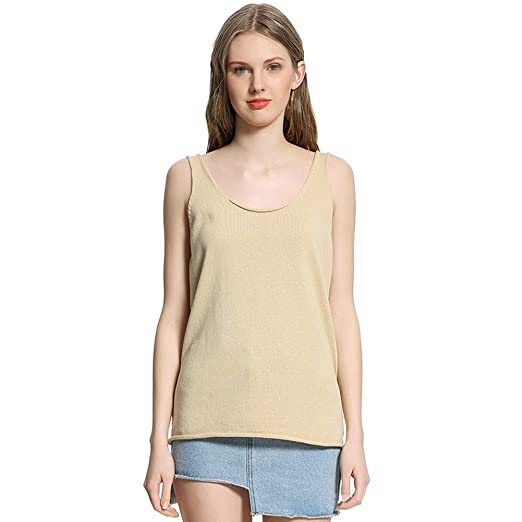 7408c98e2d Newest trent Women s One Size Soft Knit Sleeveless Camisole 100 ...