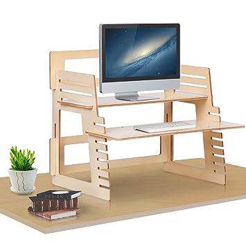 devaise standing desk converter adjustable standing desk riser ergonomic sittostand