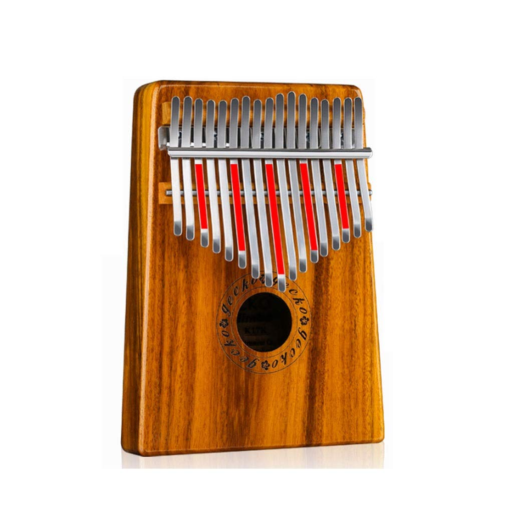 17 Keys Kalimba Thumb Finger Piano 17 Keys Solid Wood Marimba Musical Instrument African Musical Instrument Marimbas (Size : C) by ZJY