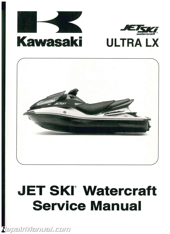 99924-1376-01 2007 Kawasaki JT1500C Jet Ski Ultra LX Service Manual:  Manufacturer: Amazon.com: Books
