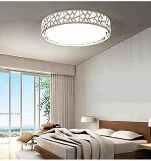 lampada da soffitto camera da letto lampada led bianco moderno ... - Lampadari A Soffitto Per Camera Da Letto