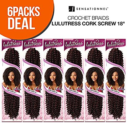 Amazoncom Multi Pack Deals Sensationnel Synthetic Hair Crochet