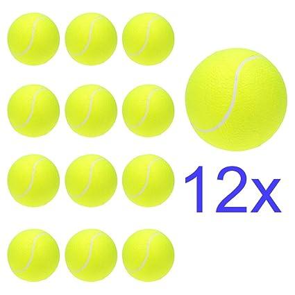 Lixada - Pelota de tenis gigante para niños y adultos de 24,13 cm ...