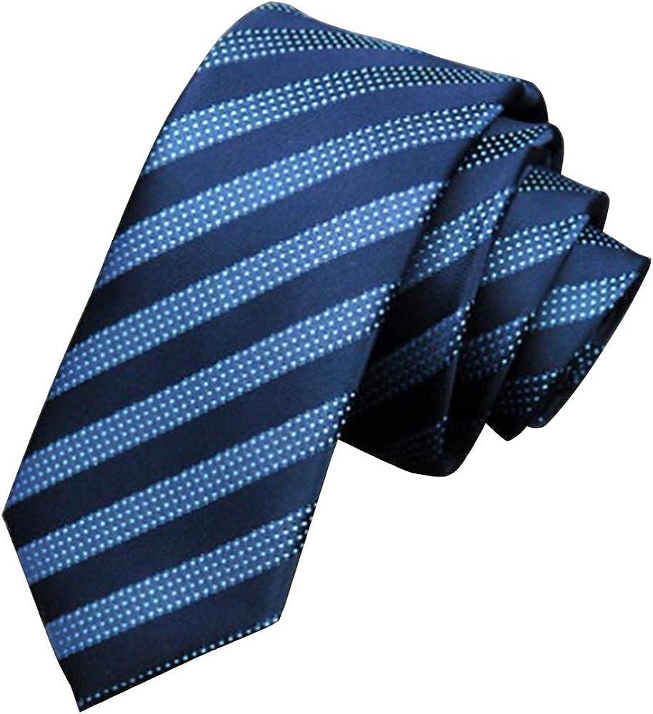 NiSeng Clásicos Corbatas Estrechas Corbata Elegante Multicolor Matrimonio Fiesta Boda Flaco Lazo para Hombre Armada#1: Amazon.es: Ropa y accesorios