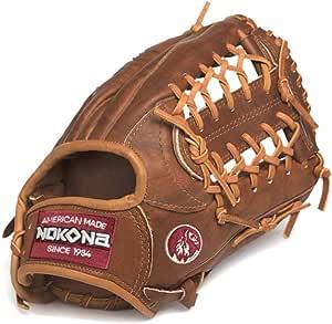 "Lists @ $350 NEW Nokona Walnut 13/"" All Positions Baseball Glove"