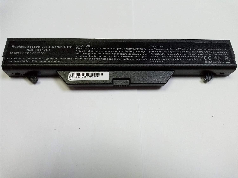 onlyguo 10.8V 5200MAH 4710S HSTNN-1B1D HSTNN-I60C Batería de Repuesto para HP ProBook 4510s ProBook 4510s / CT ProBook 4515s ProBook 4515s / CT ProBook 4710s ProBook4720s